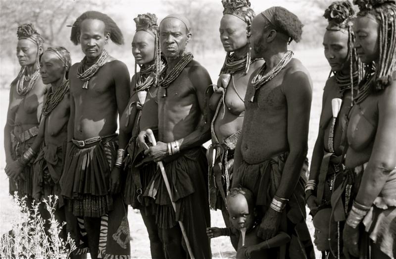 Familia-Himba